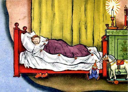 Английские песенки: Рано в кровать