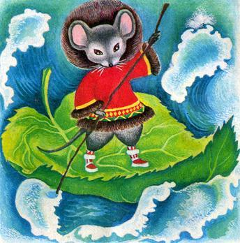 Сказка мышка вострохвостик с картинками