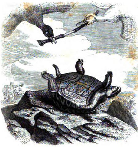 Черепаха и две утки
