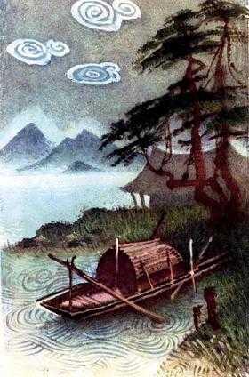 лодка на реке