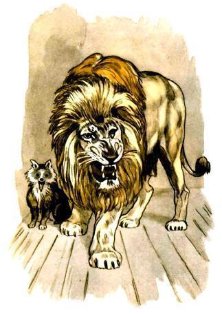 Лев и собачка - Сказки Льва Толстого: читать с картинками ...