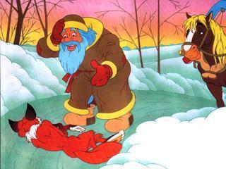Лиса и волк - Русские сказки: читать с картинками ...