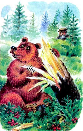 Музыкант медведь