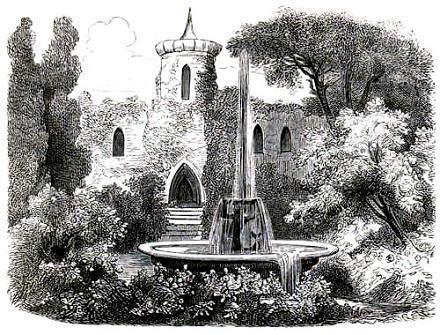 замок и сад