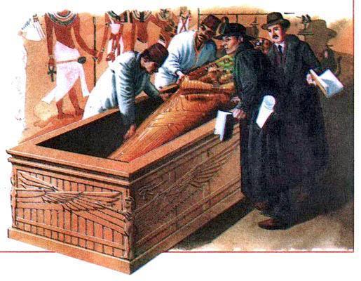 В отличие от гробниц других египетских фараонов