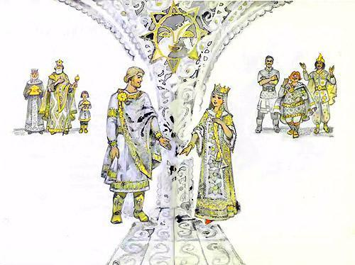 Руслан и Людмила во дворце