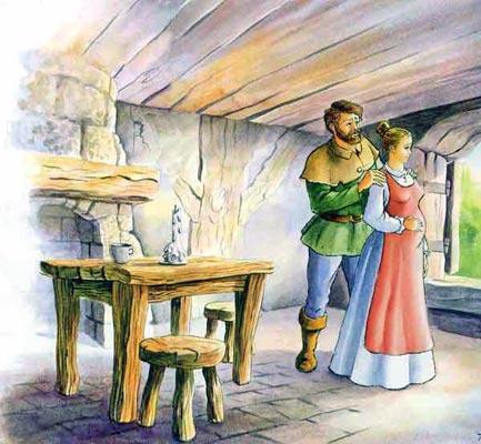 Жили-были муж и жена