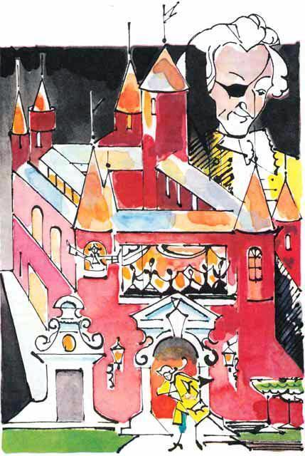 Щелкунчик замок