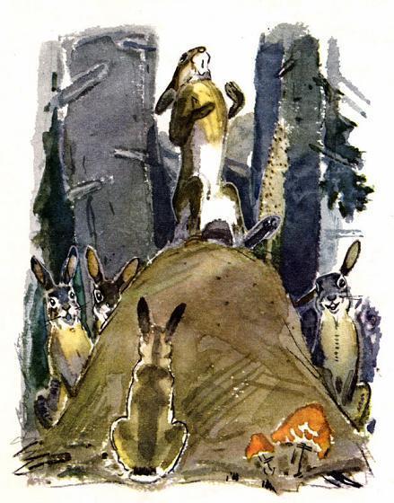 Храбрый Заяц и зайцы
