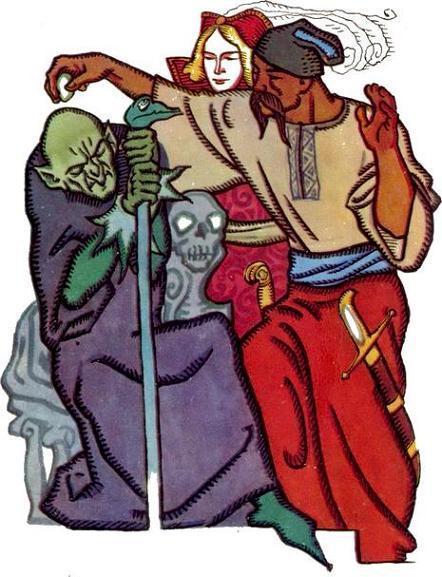 Сказка про Кощея-бессмертного, ивана-царевича и Булата-молодца