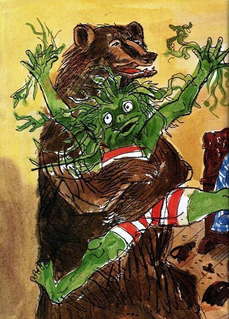 Водошлёп и медведь Когтезверь